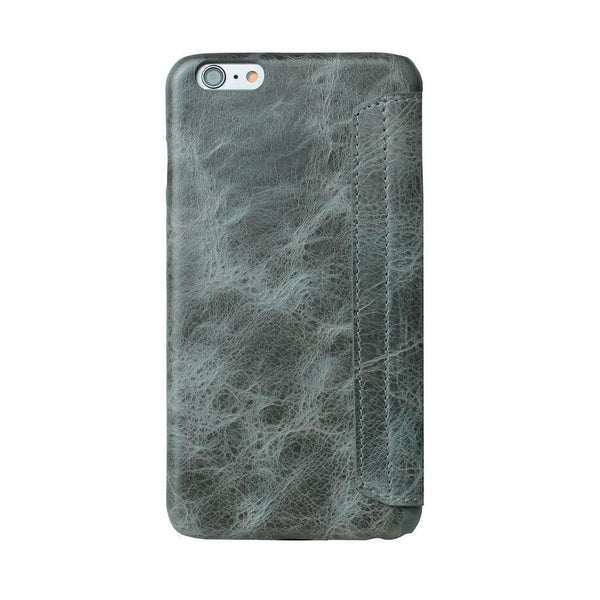Ultimate-Book Leder Phone Case Apple iPhone 6 Plus / 6S Plus - Vesselle Dark Grey