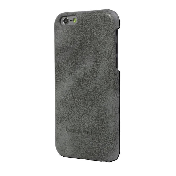 Ultimate Jacket Leder Phone Case Apple iPhone 6 / 6S - Vesselle Dark Grey