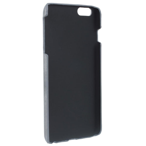 Ultimate Jacket Leder Phone Cases Apple iPhone 6 Plus / 6S Plus -  Vesselle Dark Grey