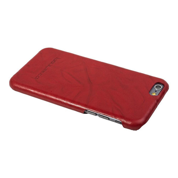 Ultimate Jacket Leder Phone Cases Apple iPhone 6 Plus / 6S Plus - Creased Red