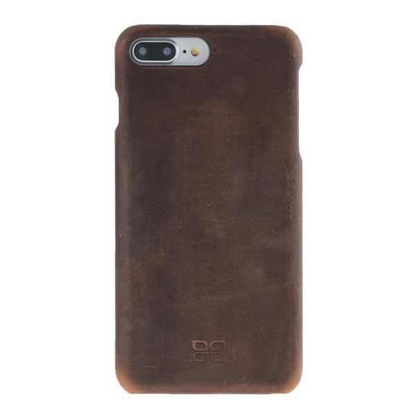 Ultimate Jacket Leder Phone Case Apple iPhone 7 Plus / 8 Plus - Antic Brown
