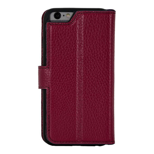 Wallet Leder Case Apple iPhone 6/6S - Floater Bordeaux