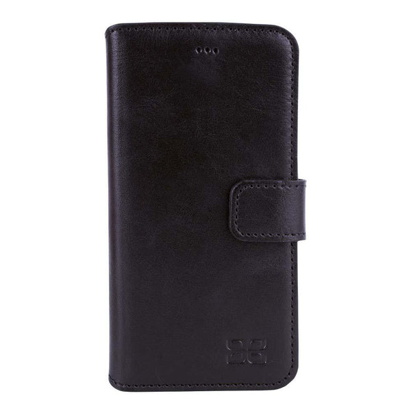 Wallet Leder Case Apple iPhone 6 Plus / 6S Plus - Rustic Black