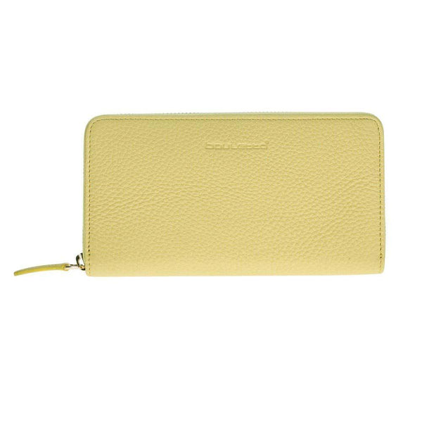 Seville Women's Leder Wallet - Floater Lemon Yellow