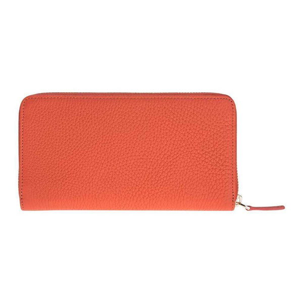 Seville Women's Leder Wallet -  Floater Orange