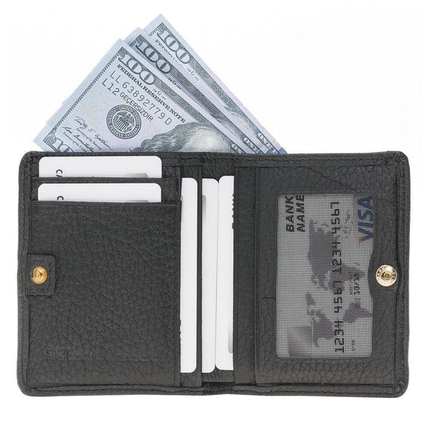 Fabio Leder Men's Wallet - Floater Black
