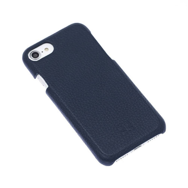 F360 Leder Back Cover Case Apple iPhone 7 - Floater Dark Blue