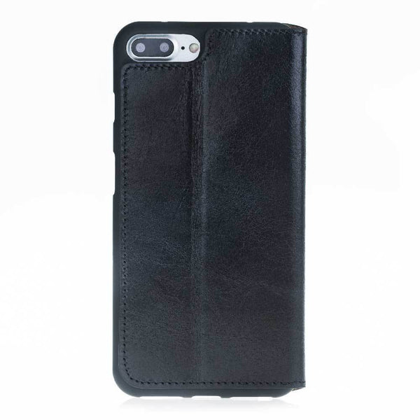 Leder Book Case Apple iPhone 7/8 Plus -  Rustic Black
