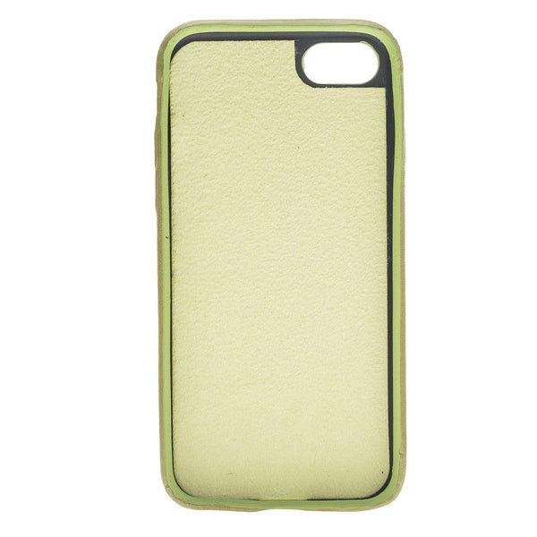 Leder Ultra Cover met Credit Card gleufjes Apple iPhone 8 - Crazy Green