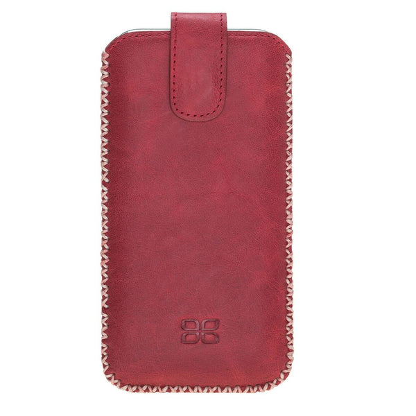 Sarach Leder Case iPhone X/XS - Tiana Red