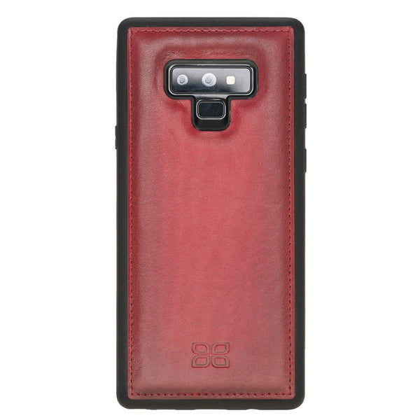 Flex Back Cover Leder Case Samsung Note 9 - Vegetal Burnished Red