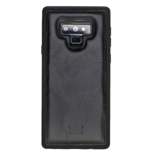 Flex Back Cover Leder Case Samsung Note 9 - Rustic Black