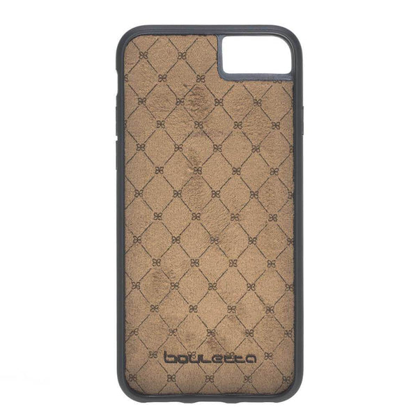 Flex Stand Leder Case Apple iPhone 7/8 - Rustic Burnished Tan met Effect