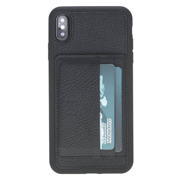 Flex Stand Leder Case Apple iPhone XS MAX- Floater Black