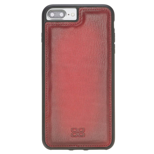 Flex Back Cover Leder Case Apple iPhone 7 Plus / 8 Plus - Vegetal Burnished Red
