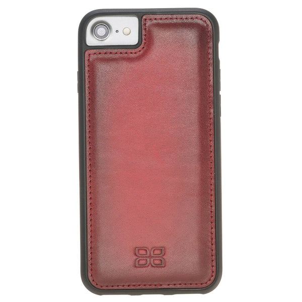 Flex Back Cover Leder Case Apple iPhone 7 / 8 - Vegetal Burnished Red