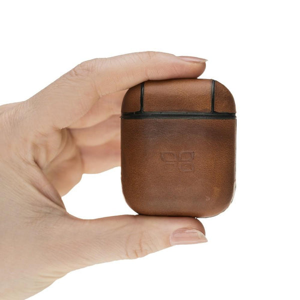 AirPods Leather Case - Tan