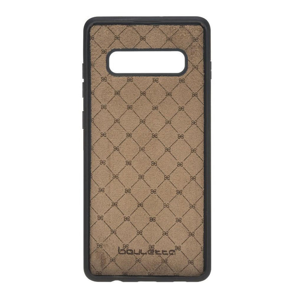 Flex Cover Back Leder Case voor Samsung Galaxy S10 Plus - Antic Brown