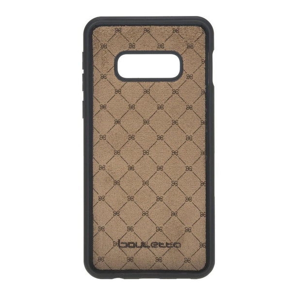 Flex Cover Back Leder Case voor Samsung Galaxy S10e Essential - Rustic Tan met Effect