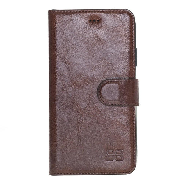 Wallet Folio Leder Case met ID slot voor Apple iPhone XR - Vesselle Brown