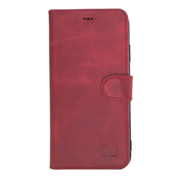 Wallet Folio Leder Case met ID slot voor Apple iPhone XS MAX - Tiana Red
