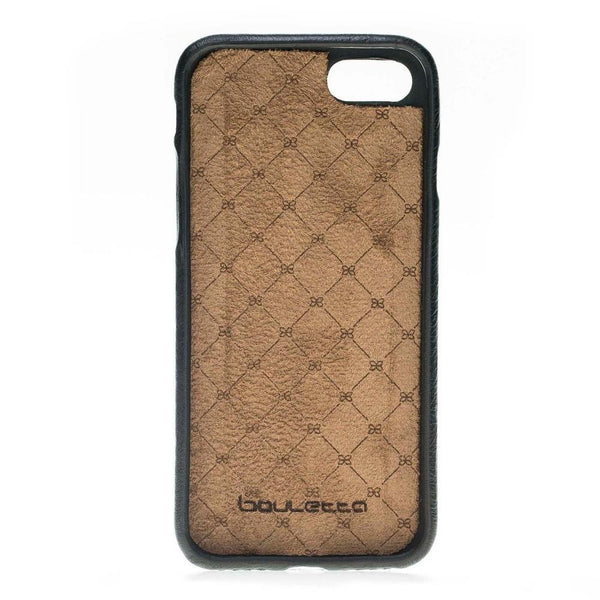 Leder Ultra Cover Snap On Back Cover voor de Apple iPhone 7 Plus / 8 Plus - Rustic Black