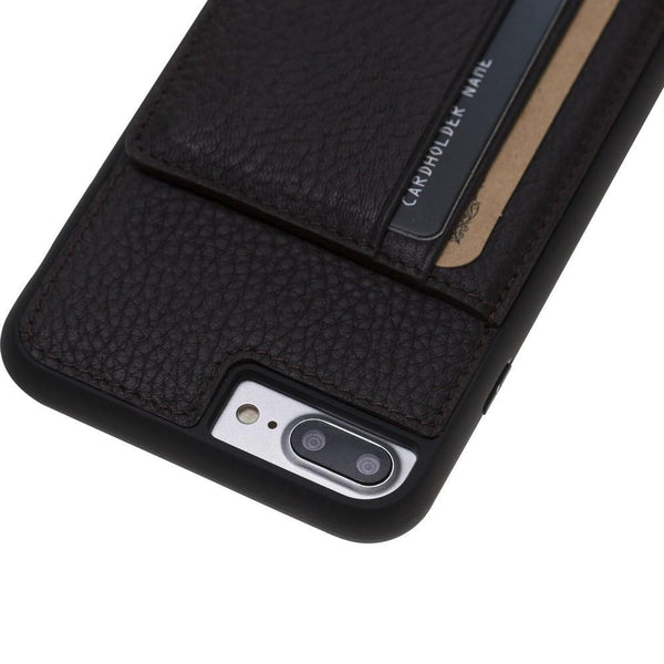 Flex Stand Cover Leder Case voor iPhone 7/8 Plus - Floater Brown