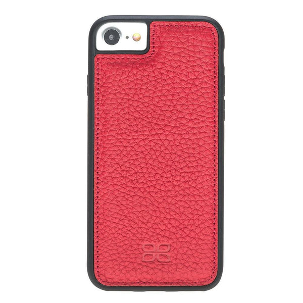 Flex Cover Back Leder Case voor Apple iPhone 7/8 - Floater Red