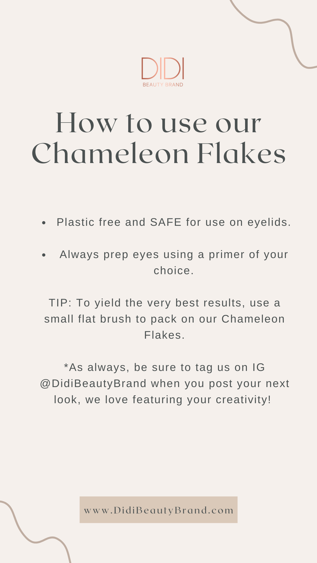 chameleon flakes, makeup hacks, tips, how to use,