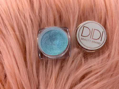 Blue Hawaiian Pigment | Sparkling Pigment for Eyes | Shimmer Glitters Pigment | Eye Makeup