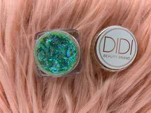Mojito Pigment | Shimmering Pigments | loose Eye Shadow | Sparkling Pigment for Eyes