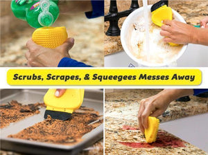 3 in 1 Silicone Cleaning Sponge