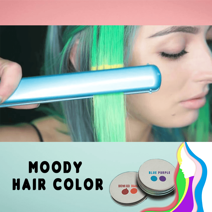 Moody Hair Color