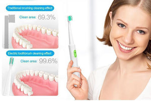 Ultra-Sonic Electric Toothbrush Set