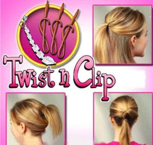 3 Second Twist and Clip (Set of 4)