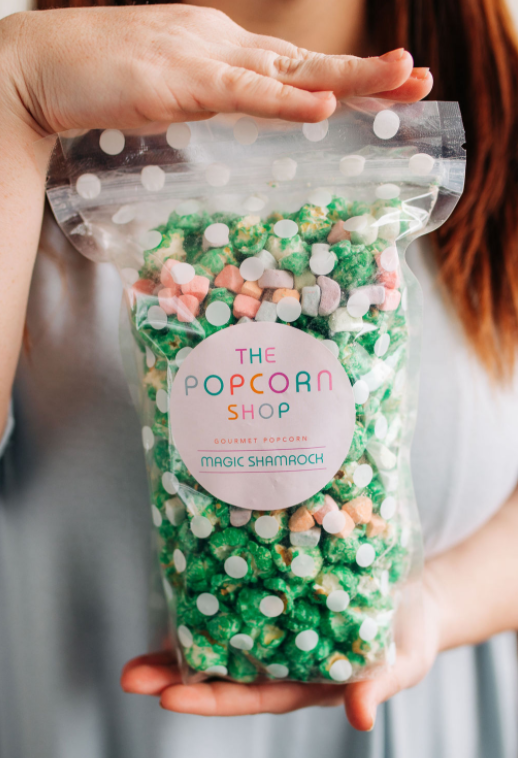 Magic Shamrock Popcorn