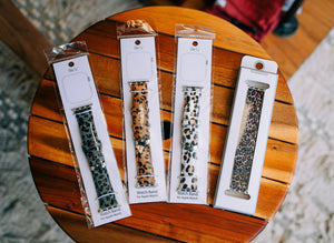 Animal Print Apple Watch Bands