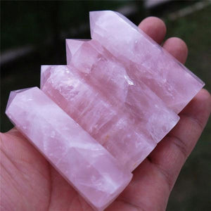 Pointe de Quartz rose