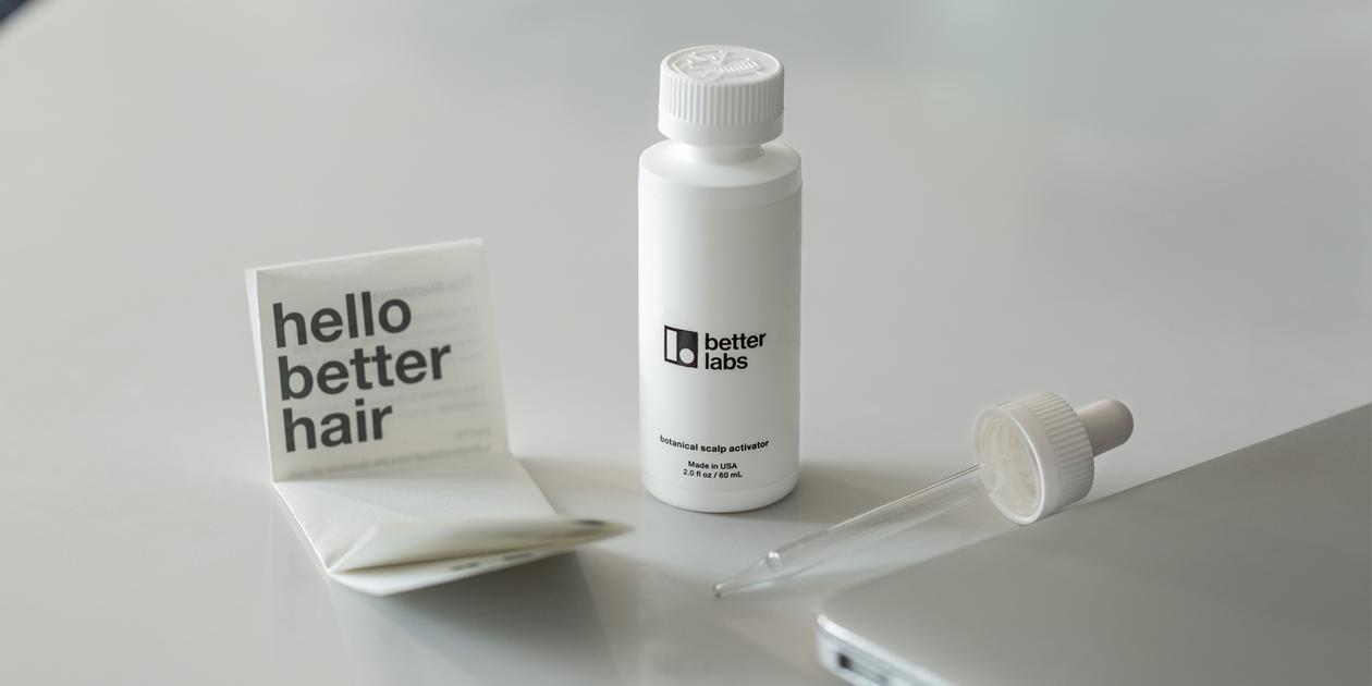 regrow hair with our shampoo | better labs