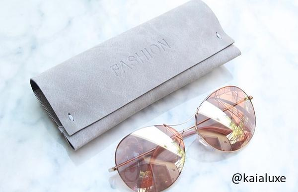 Avoalre Aviator Fashion Women Pink Sunglasses Review - By Kaialuxe