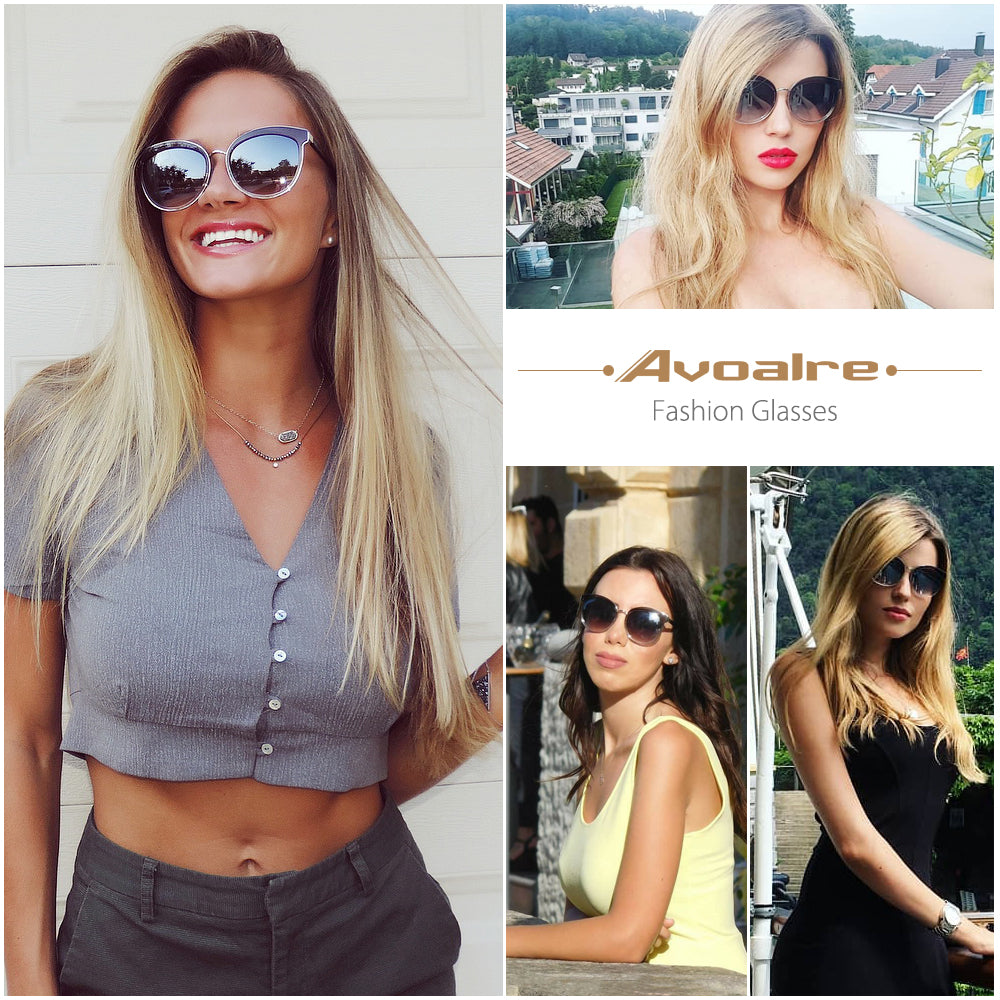 gradient color avoalre fashion sunglasses shades trendy eyewear uv protection premium quality (4)