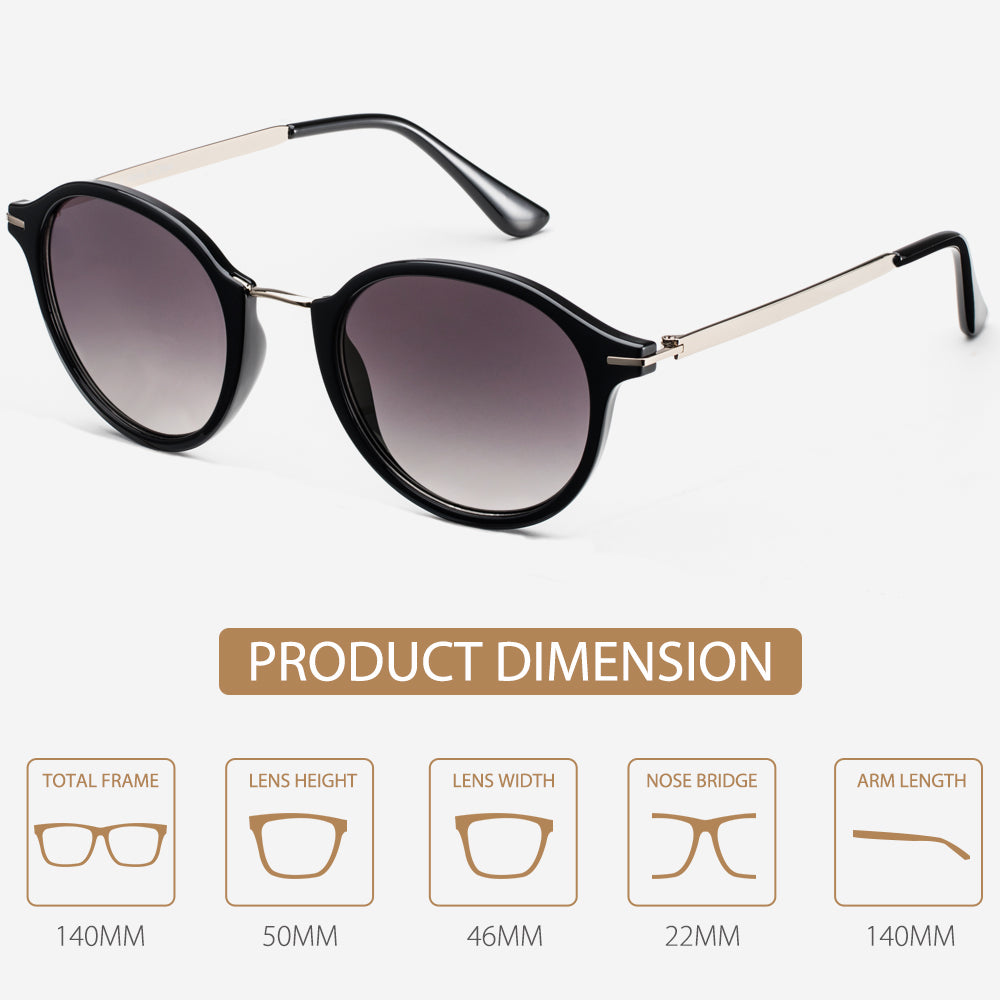 retro brown sunglasses funk fashion trend 2019 summer shades instagram avoalre uv protection (4)