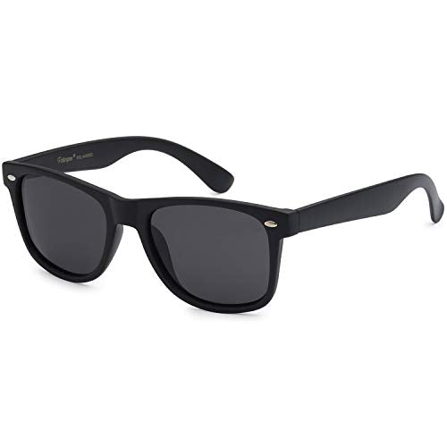 Polarized 80's Retro Classic Trendy Stylish Unisex Sunglasses