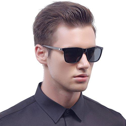 Vintage Unisex Polarized Aluminum Sunglasses for Men/Women -12
