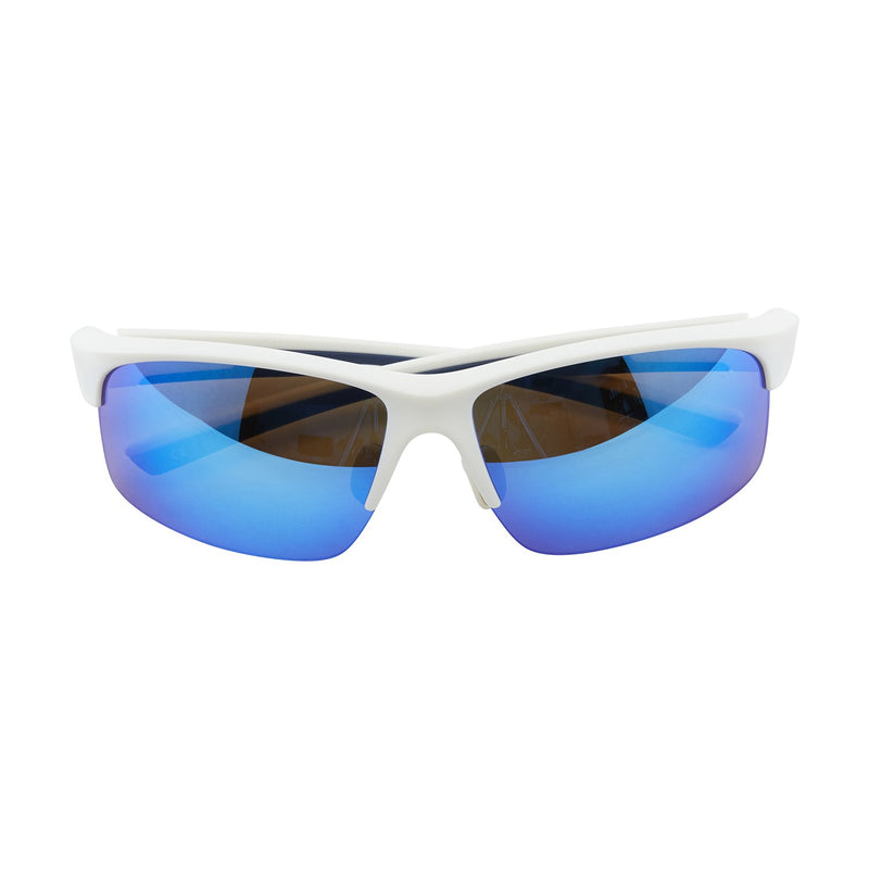 TR90 Ice Blue Frame Polarized Revo Lens Anti UV Sports Sunglasses