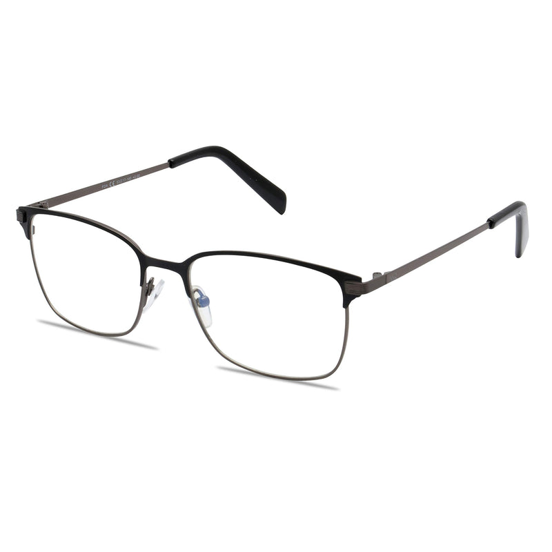 Square Lightweight Black Frame Blue-light Blocking Computer Glasses