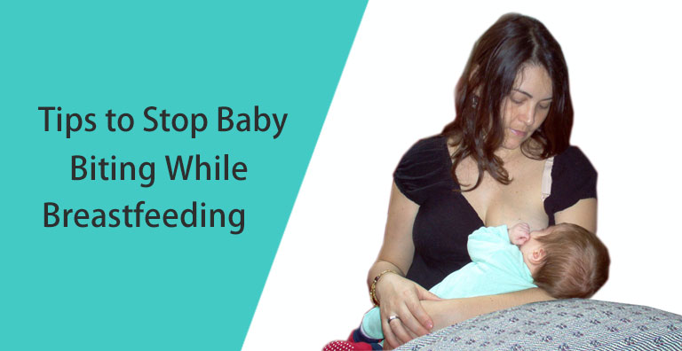 9 Tips on How to Stop Your Baby from Biting While Breastfeeding