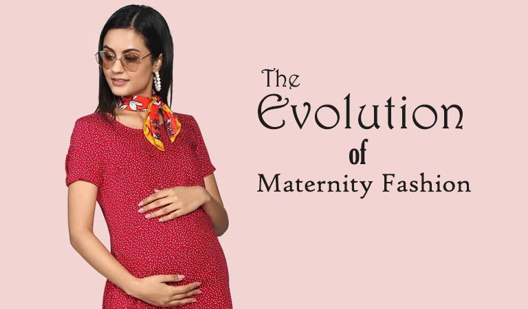 A Look into the Evolution of  Maternity Fashion