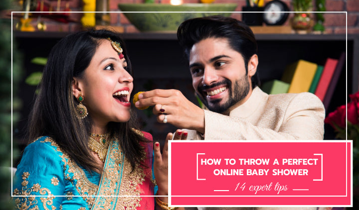 Godh Bharai- How to Throw a Virtual Indian Baby Shower