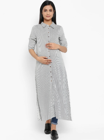 Maternity Striped Kurta